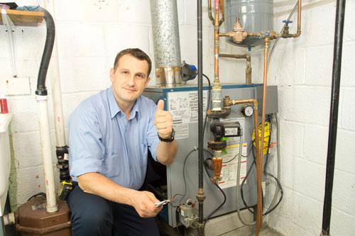 How is furnace efficiency measured?